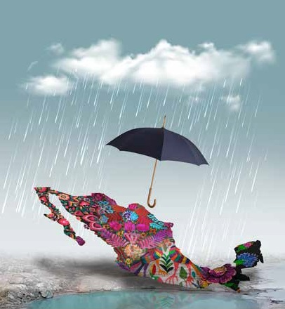 mapa paraguas